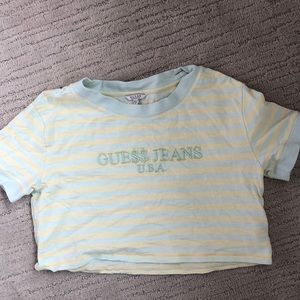 Guess ASAP rocky collab crop top